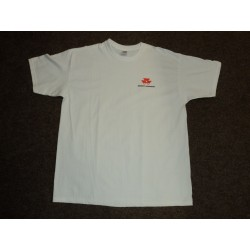 Pánské bílé tričko s logem MF