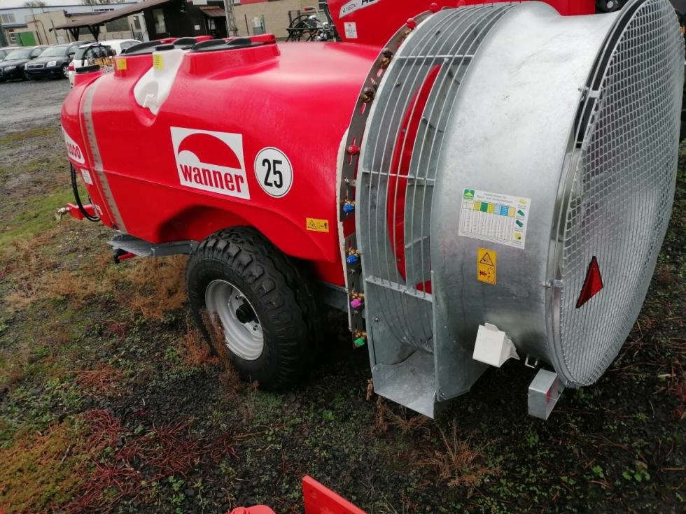 Tažený chmelový rosič Wanner  K48A/2000-140
